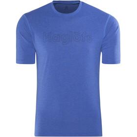 Haglöfs M's Ridge Tee Cobalt Blue